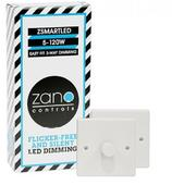 Zano Controls ZSMART LED Multi-way Dimming 2 and 3 Plate Packs