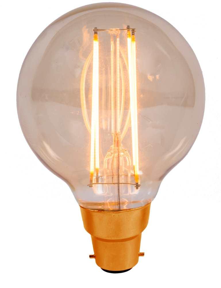 Bell 4W LED Bulbs Vintage Globe Amber 2000K