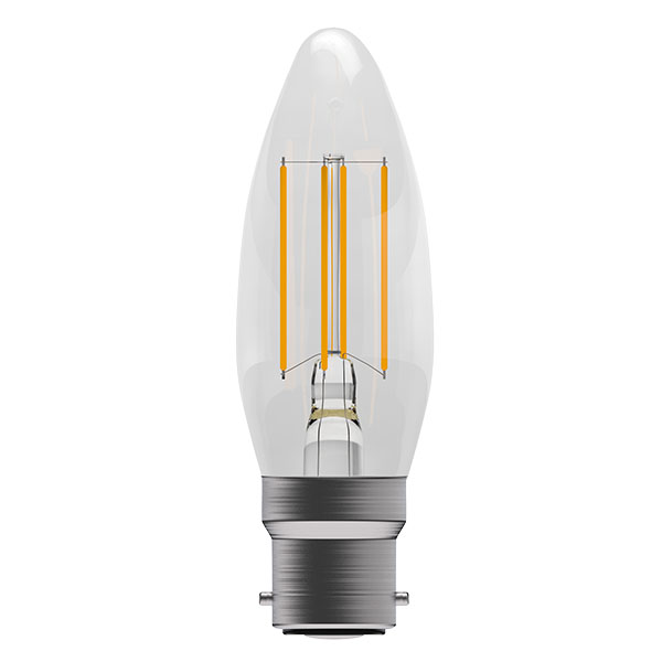 Bell 4W LED Bulbs Filament Clear Candle 2700K Warm