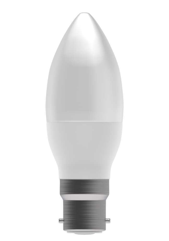 Bell 4W LED Bulbs 35mm Candle Opal & Clear Dimmable Options
