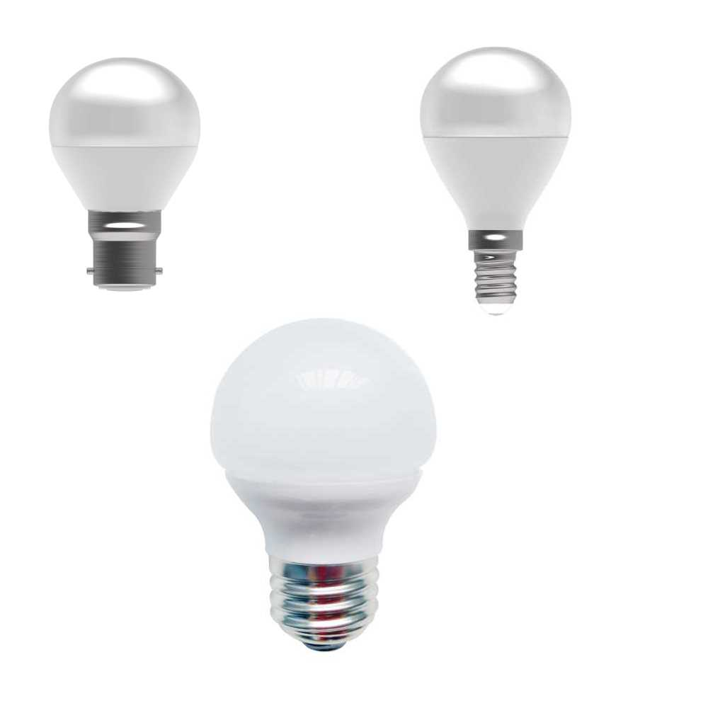 Bell 4W LED Bulbs 45mm Round Golfball