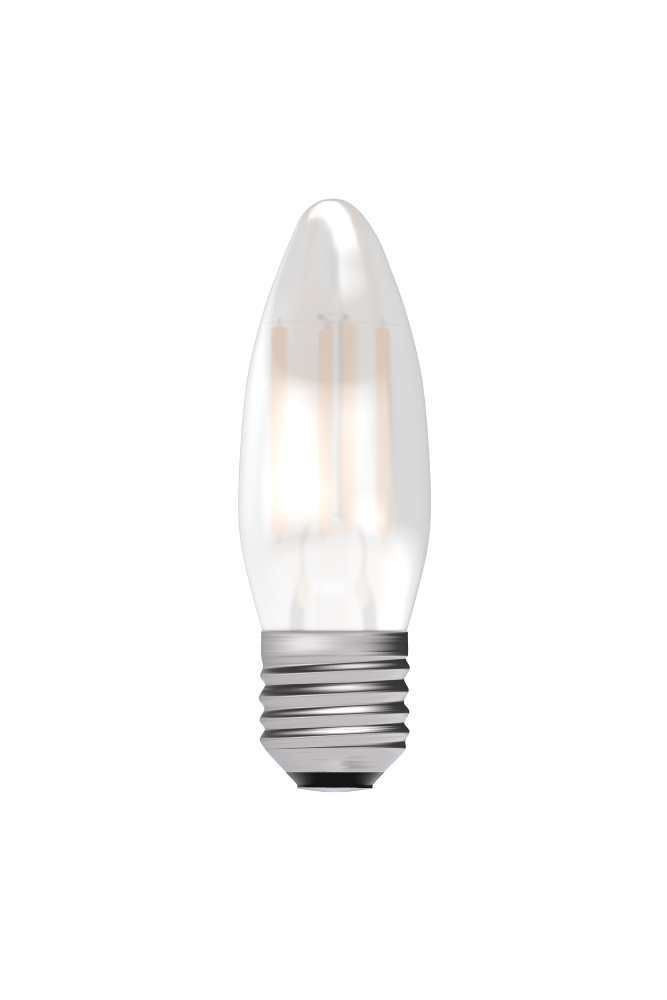 Bell 4W LED Bulbs Filament Satin Candle 2700K Warm