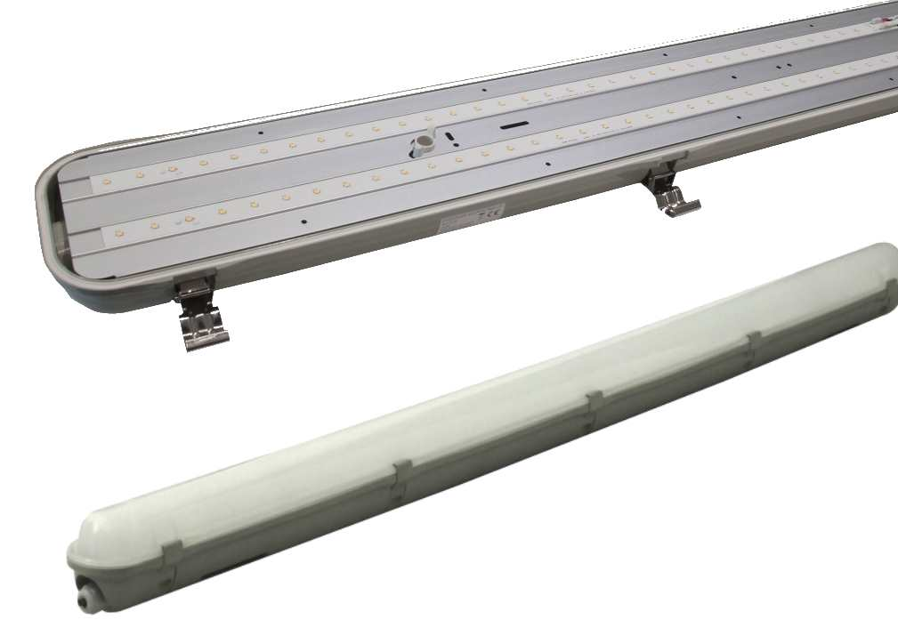 Bell Lighting Dura Led Anti Corrosive Batten 5ft Single And Twin Fittings Ip65