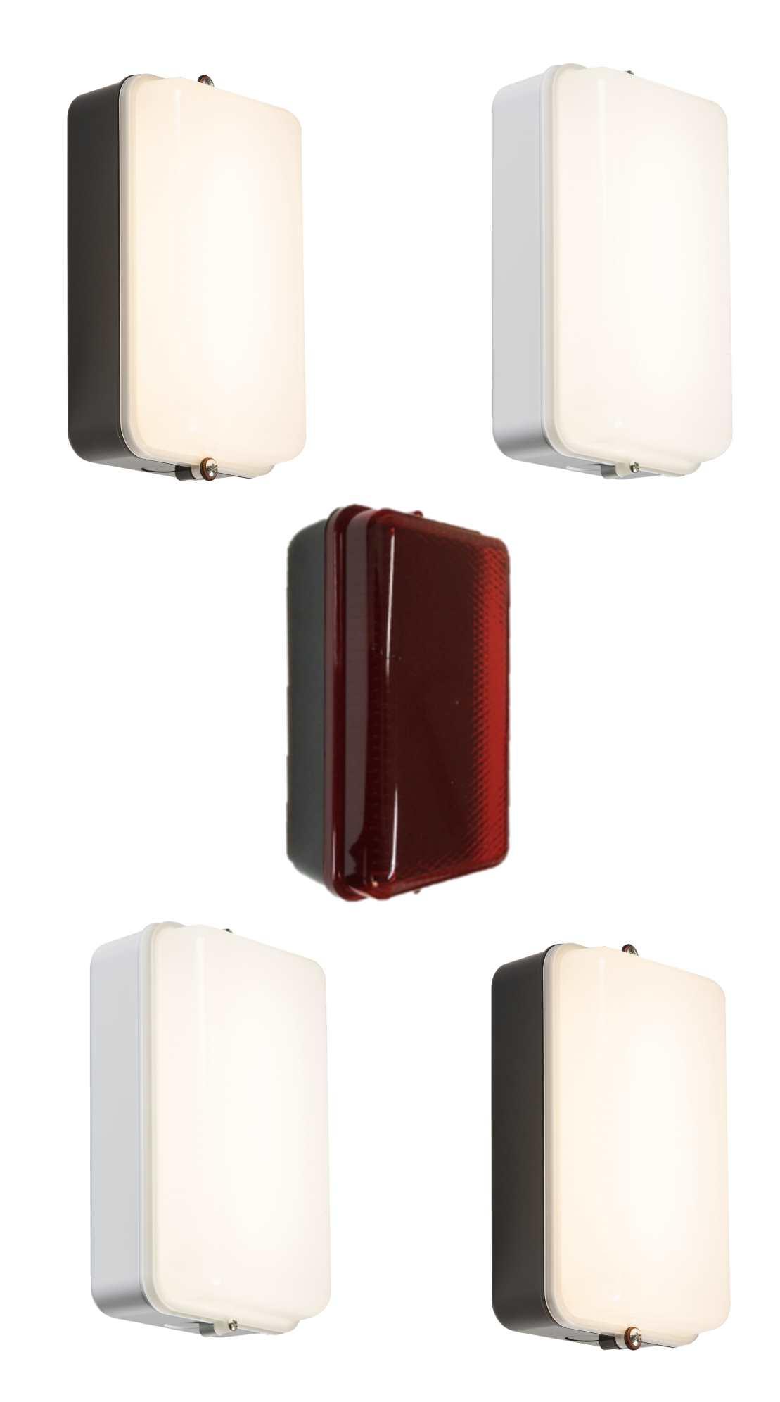 Knightsbridge Led Amenity Lighting Bulkheads Ip54 Standard And With Sensor