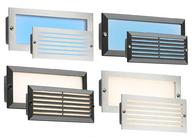 Knightsbridge 230v IP54 LED Brick Light Black or St/ Steel fascias