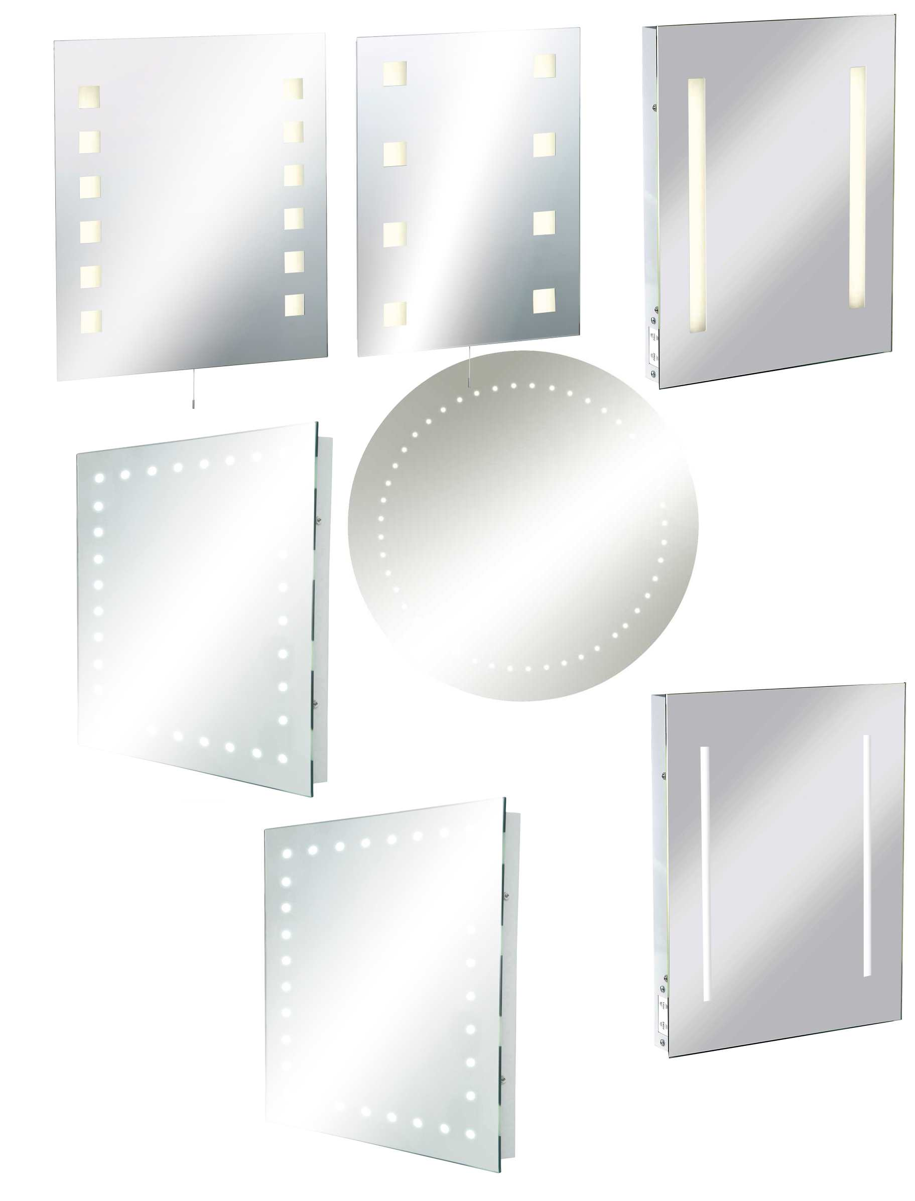 Cheap Illuminated Bathroom Mirrors: Knightsbridge Illuminated Bathroom Mirrors Standard With