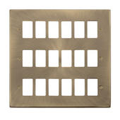Click Deco GridPro Antique Brass Front Plates