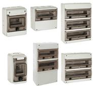Wiska Indubox Insulated Distribution Enclosures 3 to 48 Modules IP65