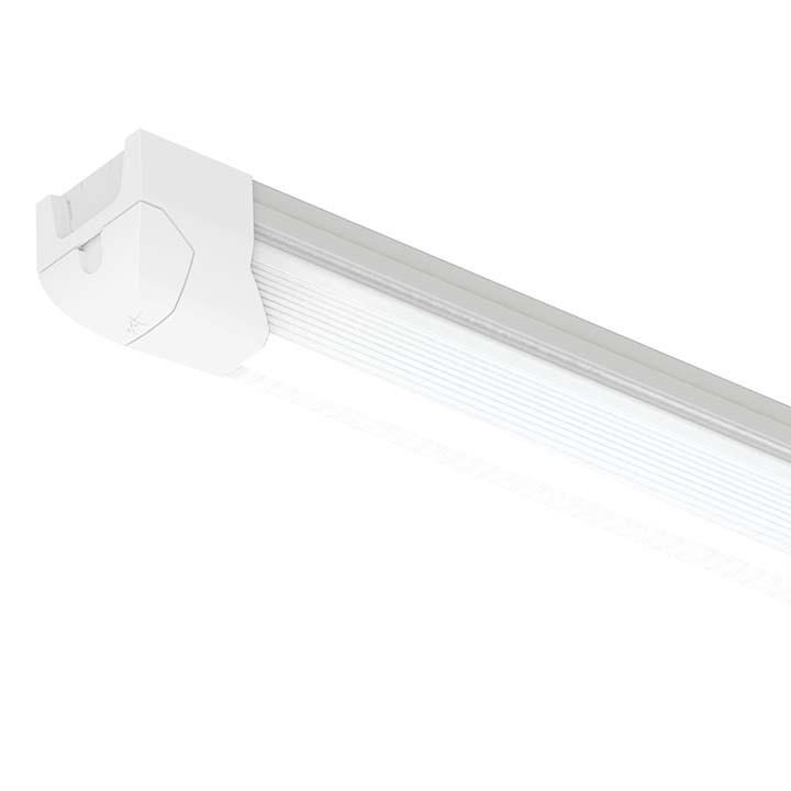 Ansell Airbeam Dimmable Emergency Continuous LED Single or Twin Battens 4 5 or 6ft