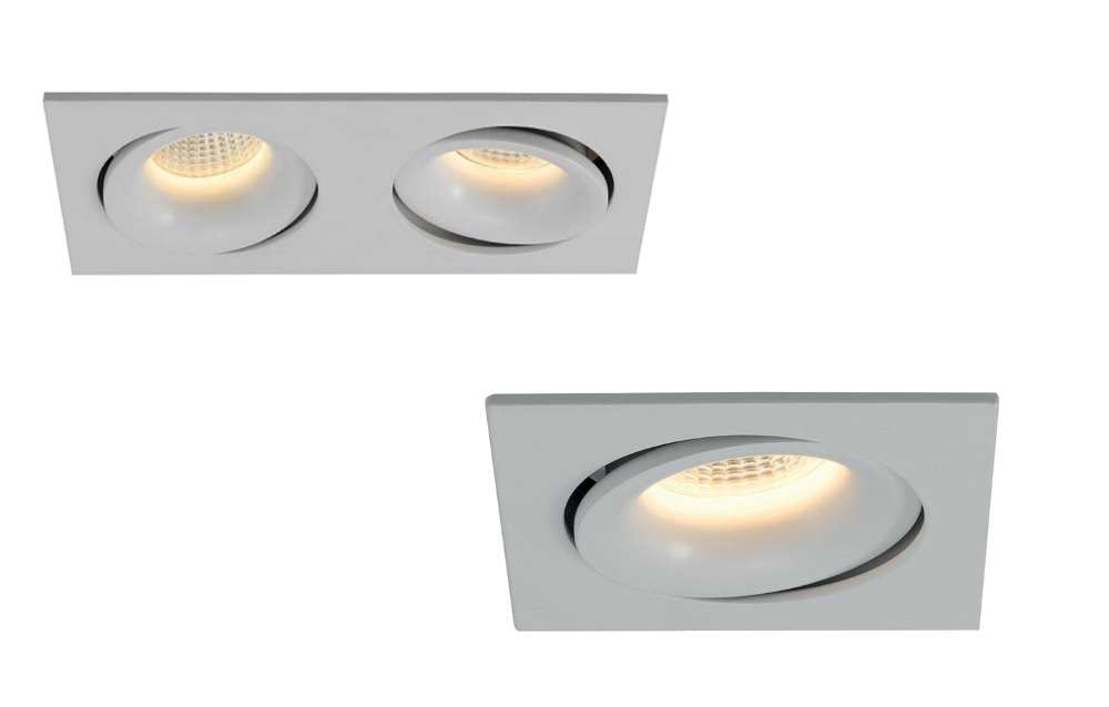Ansell Capizzi LED Single or Twin Adjustable Downlights