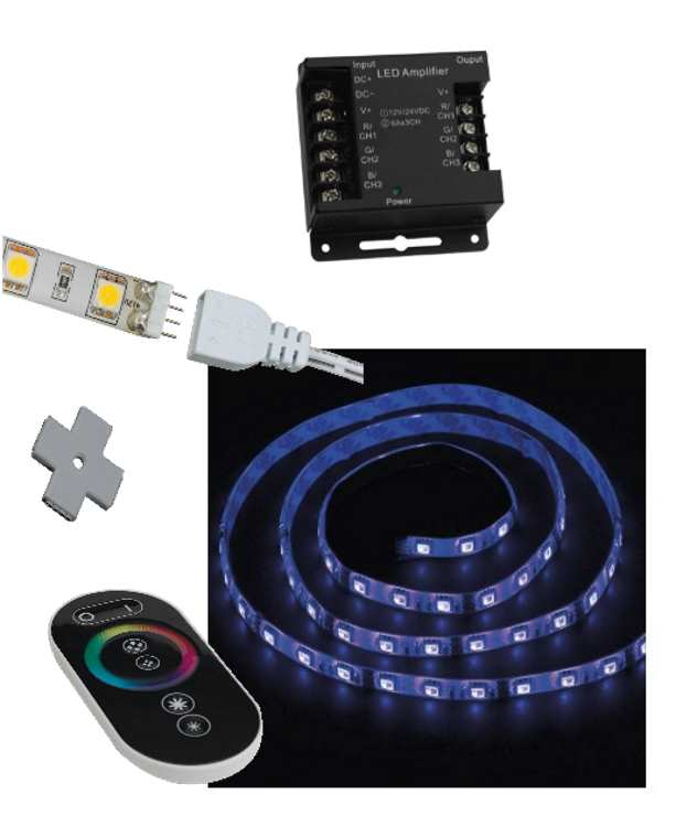 Ansell Cobra RGB Plug and Play Colour Changing LED Strip