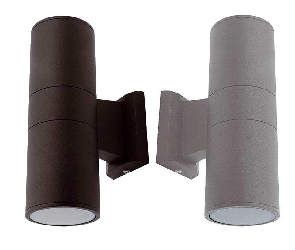 Ansell Duo Midi GU10 Bi-Directional Wall Lights