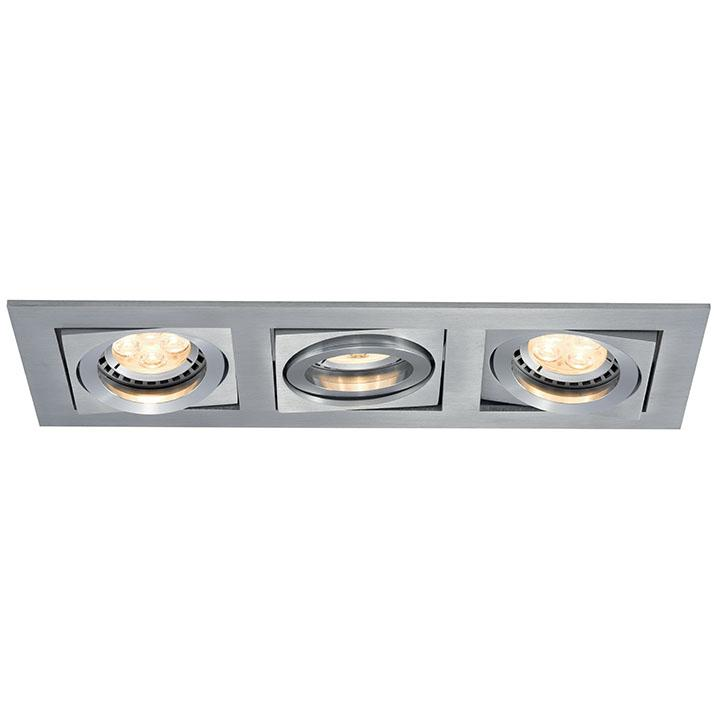 Ansell Lyric GU10 Recessed Display Downlights Single Double Triple