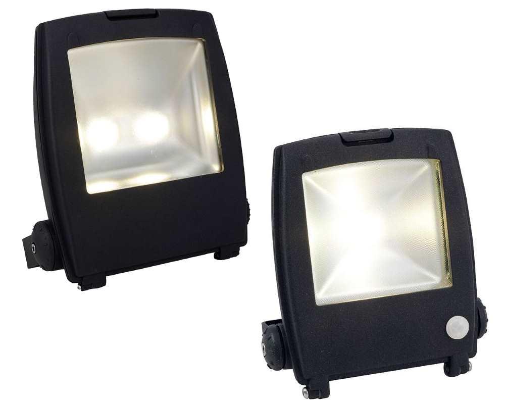 Ansell Mira LED Slim Floodlights PIR Photocell options IP66 Graphite