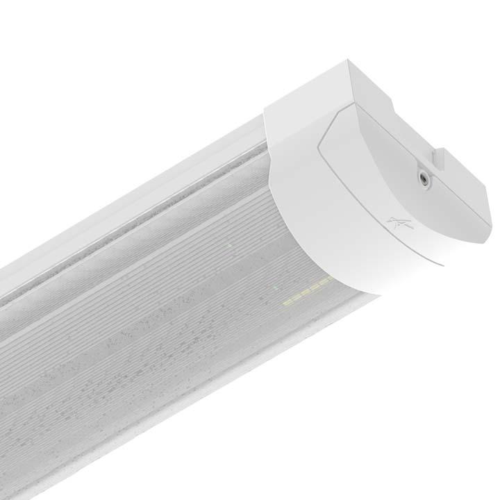 Ansell Proline Dimmable Emerg. Continuous LED Single or Twin Surface Linear 4 5 or 6ft