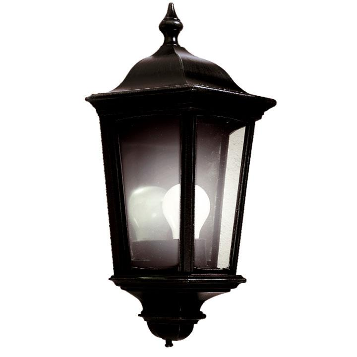 Ansell Roma Half lanterns Standard or with PIR Black
