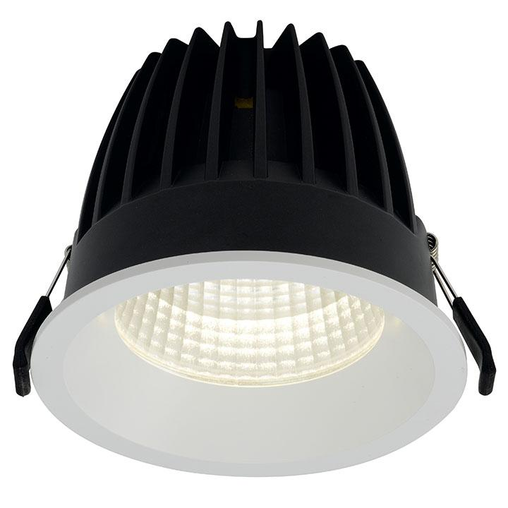 Ansell Unity 125 21W LED Downlighters 3000K or 4000K