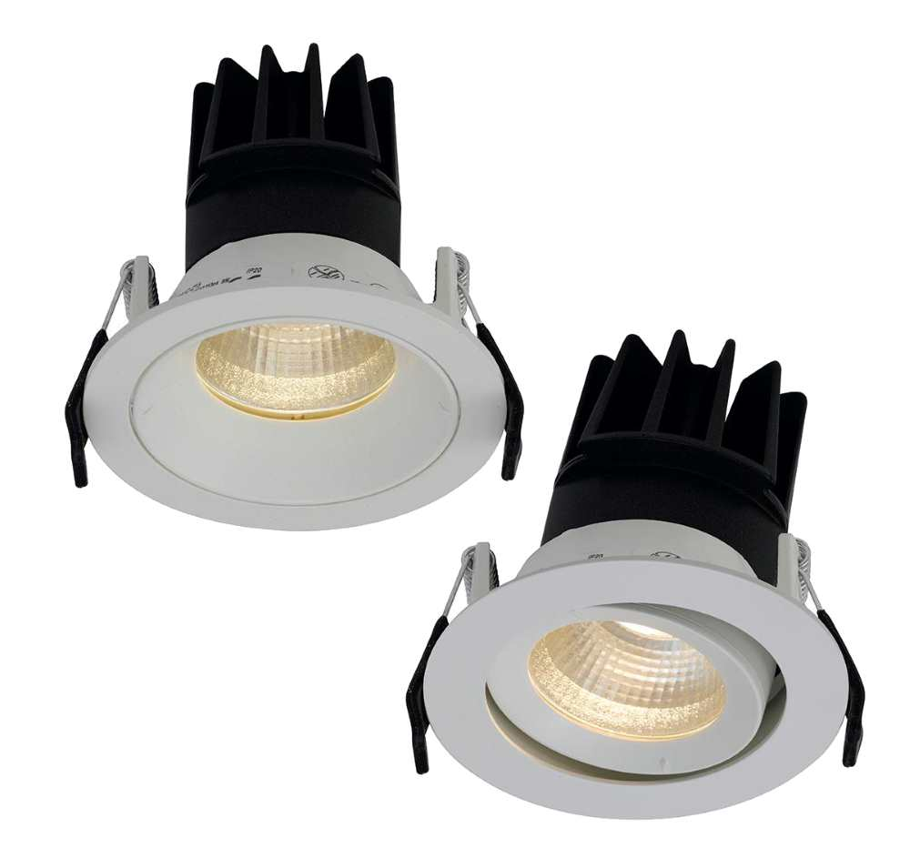 Ansell Unity 80 LED Compact Downlighters and Gimbals