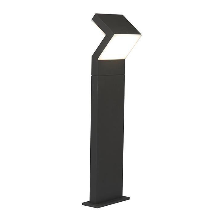 Ansell Duet LED Ultra Modern Bollards 17W Graphite