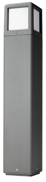 Scolmore Ovia Trinity IP54 E27 Lighting Bollards 800mm