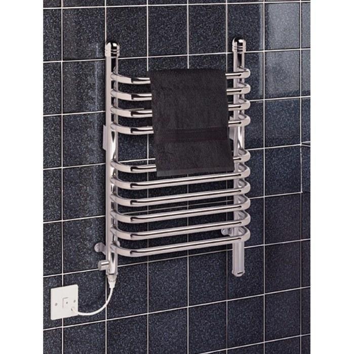 Dimplex 250w Chrome Electric Towel Rail: Dimplex BR150C 150W Dual Fuel Ladder Towel Rail Radiator