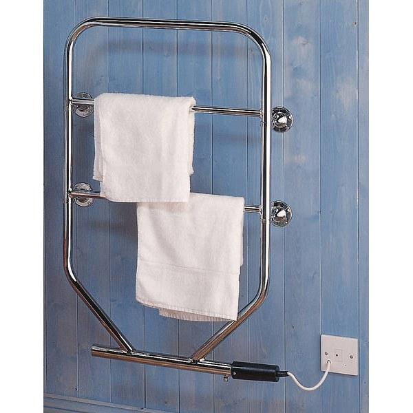 Dimplex 250w Chrome Electric Towel Rail: Dimplex TTRC130W 80W Oil Filled Electric Towel Rail Chrome