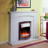 Dimplex ADG20 Adagio Polished Cast Iron Optiflame Electric Fires.