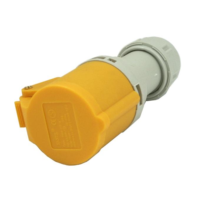 110V 2P + E 16A Coupler Socket IP44