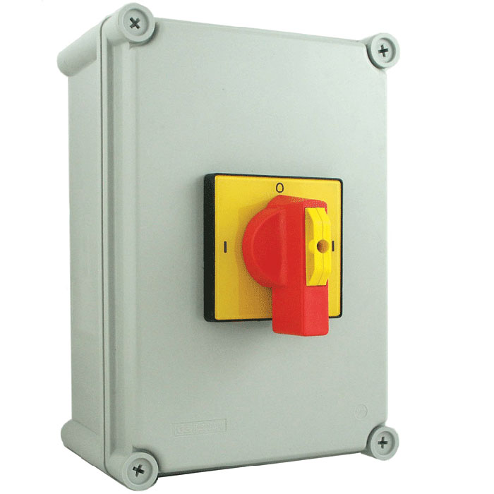 80A 4 Pole IP65 Metal Generator Changeover Switch