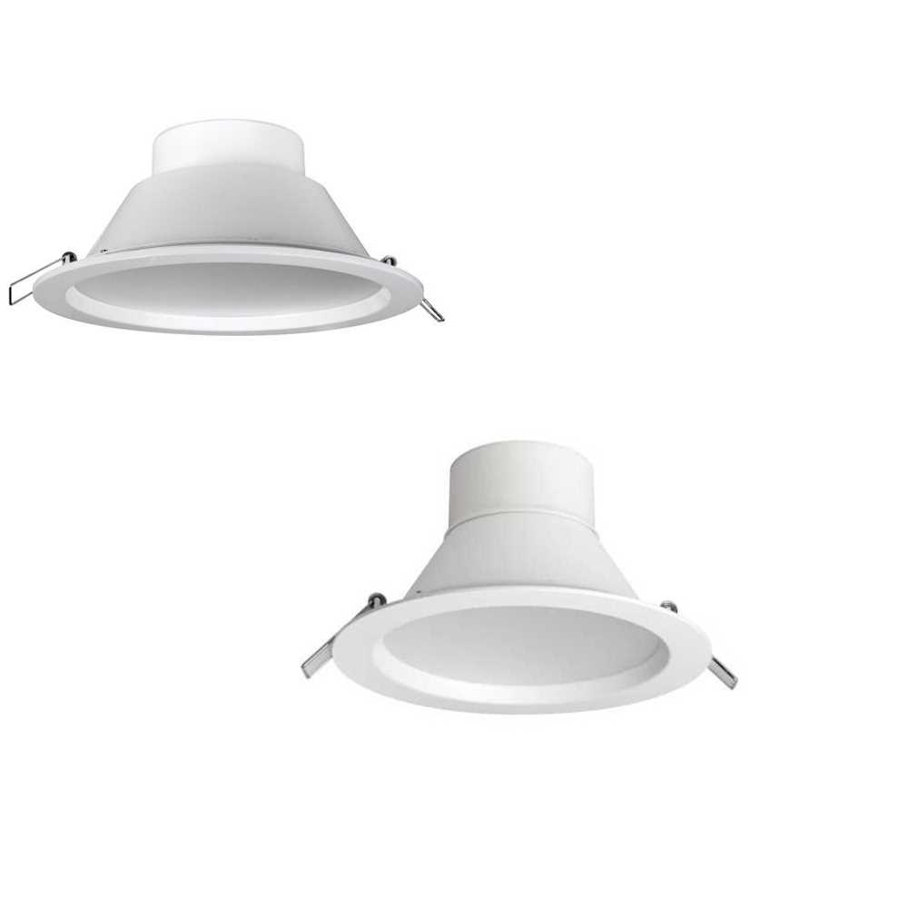 Megaman Siena Integrated LED 12.5w 20.5 or 35.5w Downlights