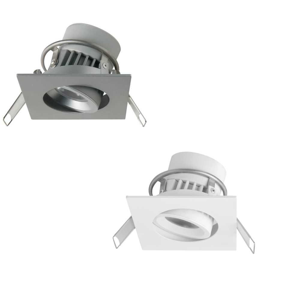 new arrival 0a9dc f5957 Megaman Siena 8W Integrated LED Dimmable Square Downlights