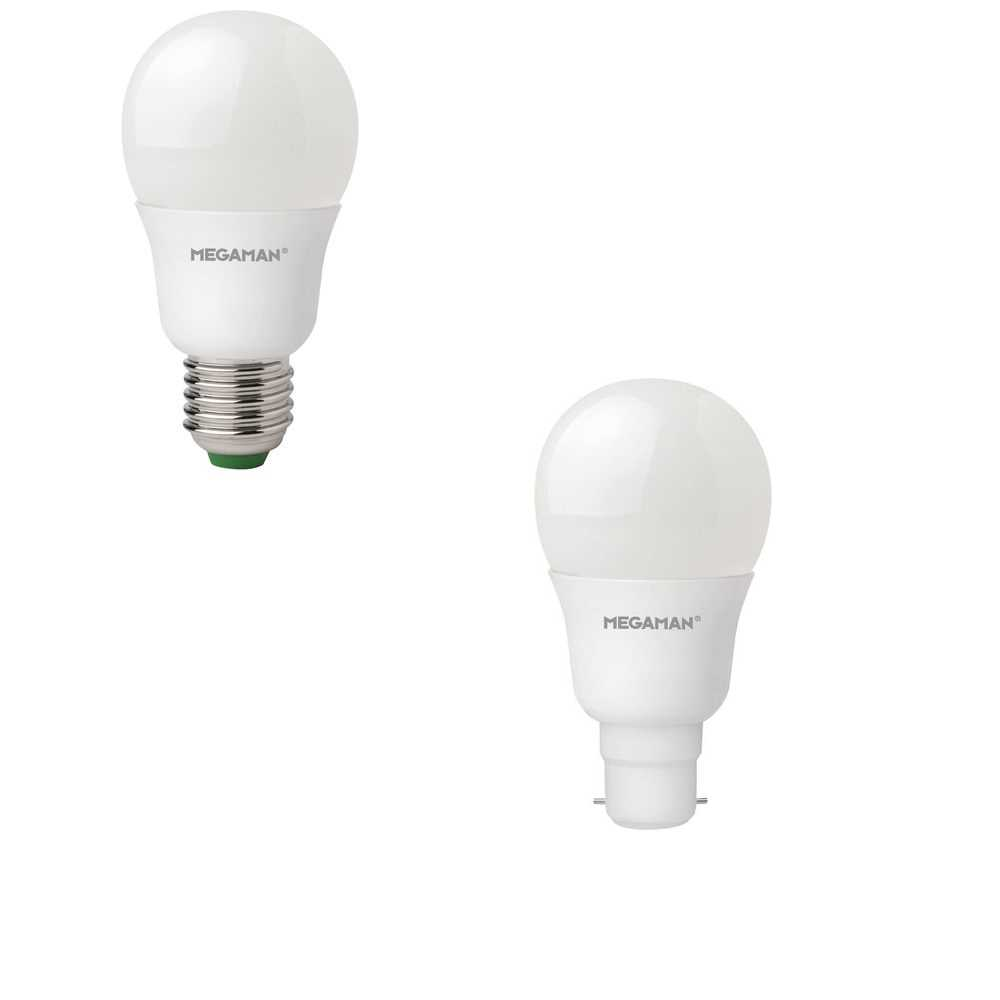Megaman 5.5W Classic LED GLS Style ES or BC Lamps 2800K