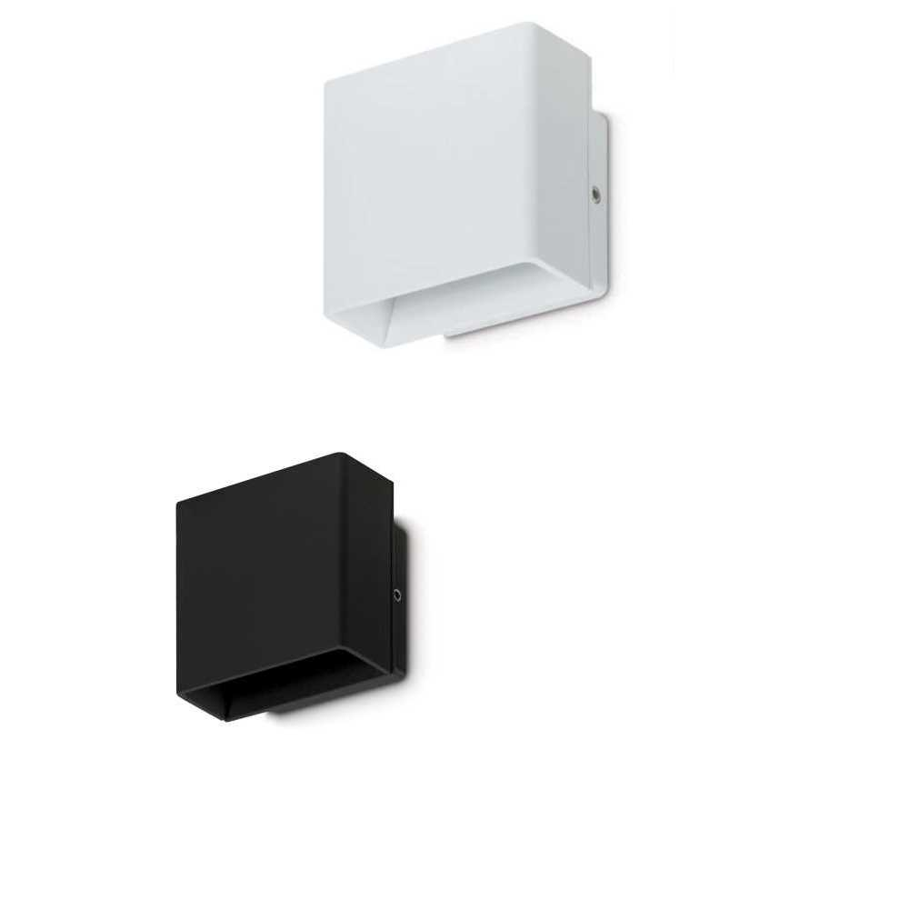 jcc 5w led up down architectural exterior lighting black or white