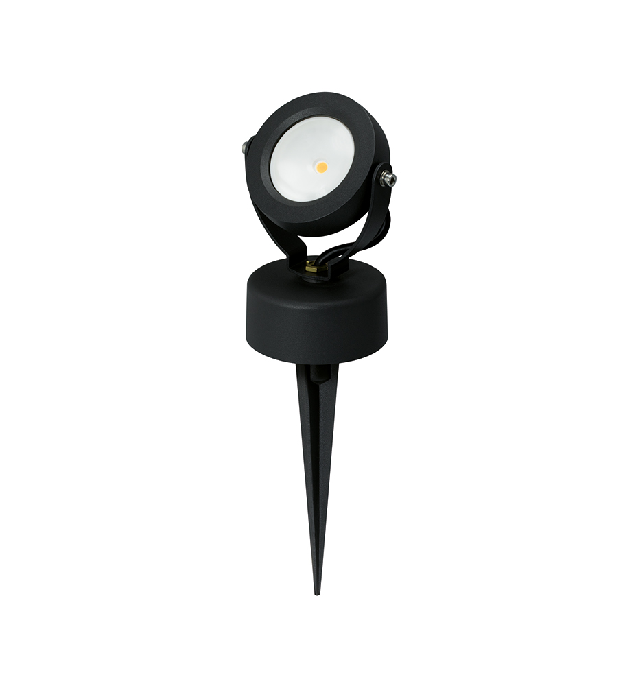 JCC JC17025 7W LED Inground Spike Light 3000K IP65