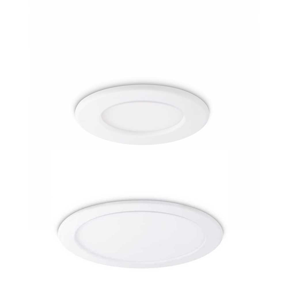 JCC Skydisc PC IP65 Slim Profile LED Downlight 7W 13W 17W or 23W 4000K or 4700K