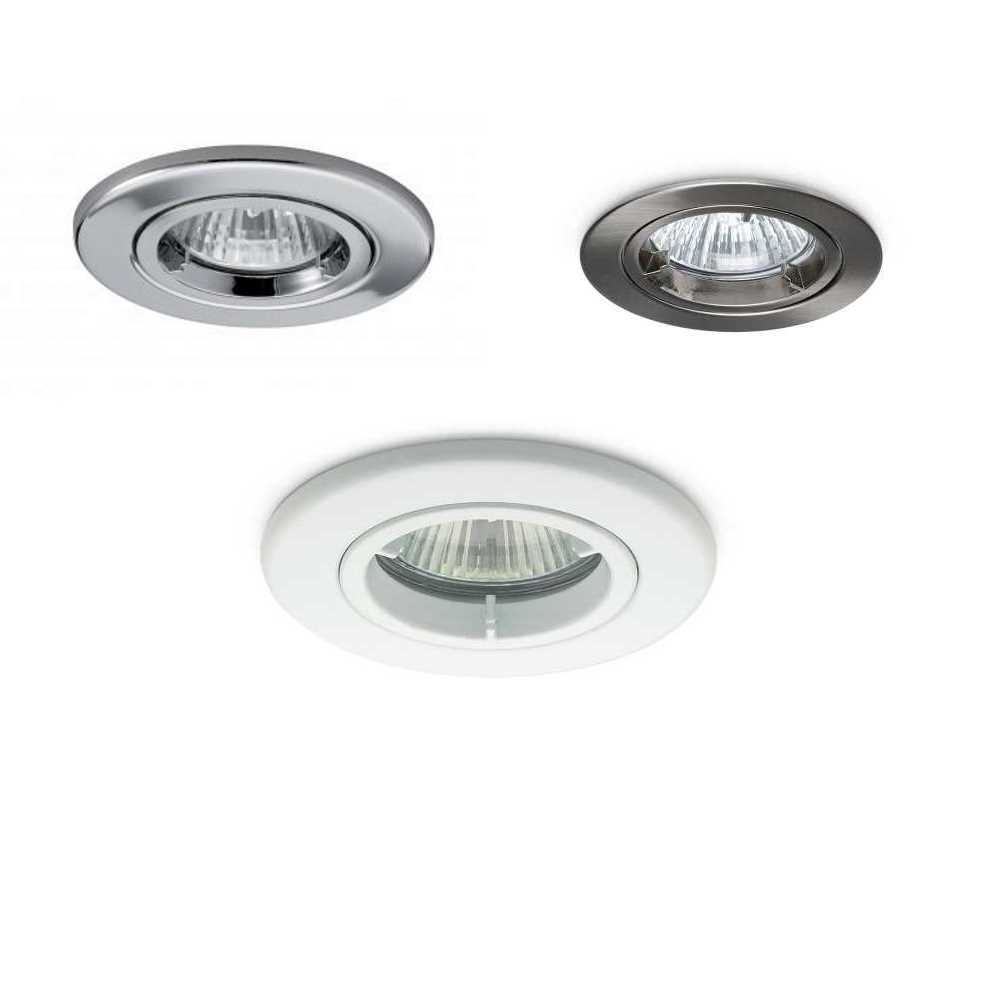 JCC Fire Rated Twist & Lock Mains GU10 Recessed Downlights IP20