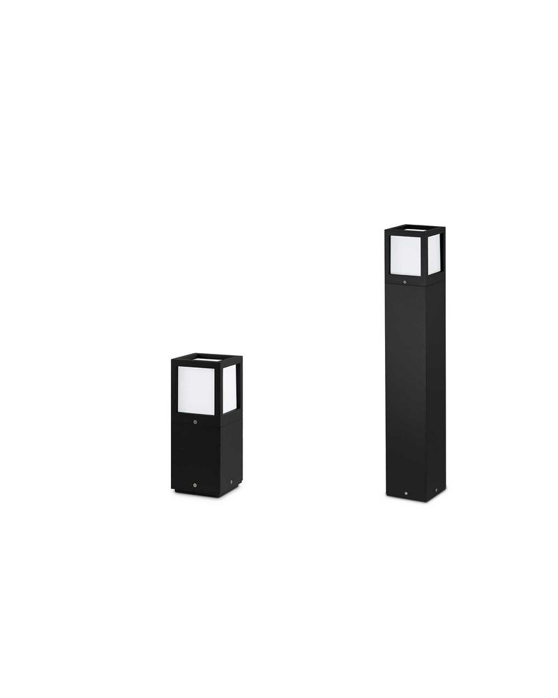 JCC 15W LED Square Bollards Short or Tall 3000K IP54