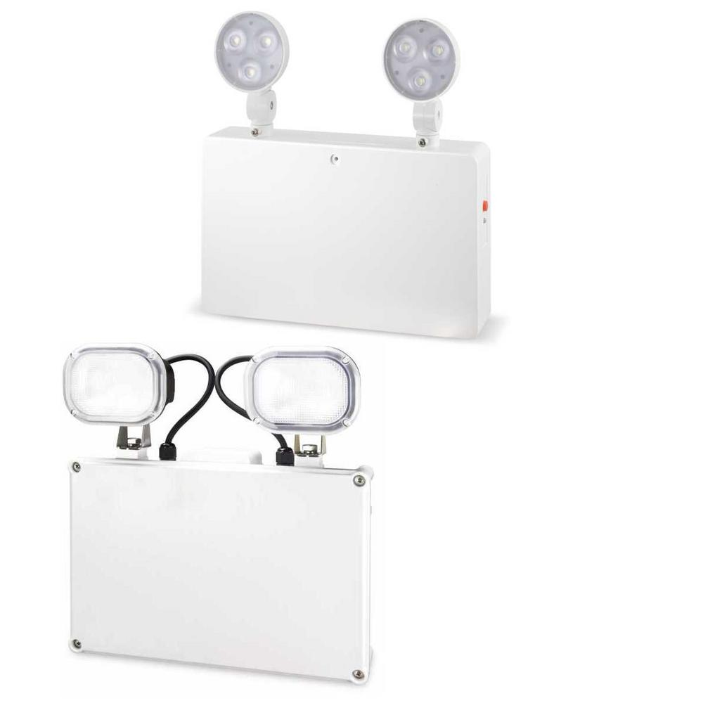 JCC LED Emergency Twin Spots Non-maintained IP20 or IP65