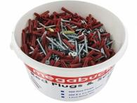 Mega Bucket MTB 500 Red Plugs & Screws