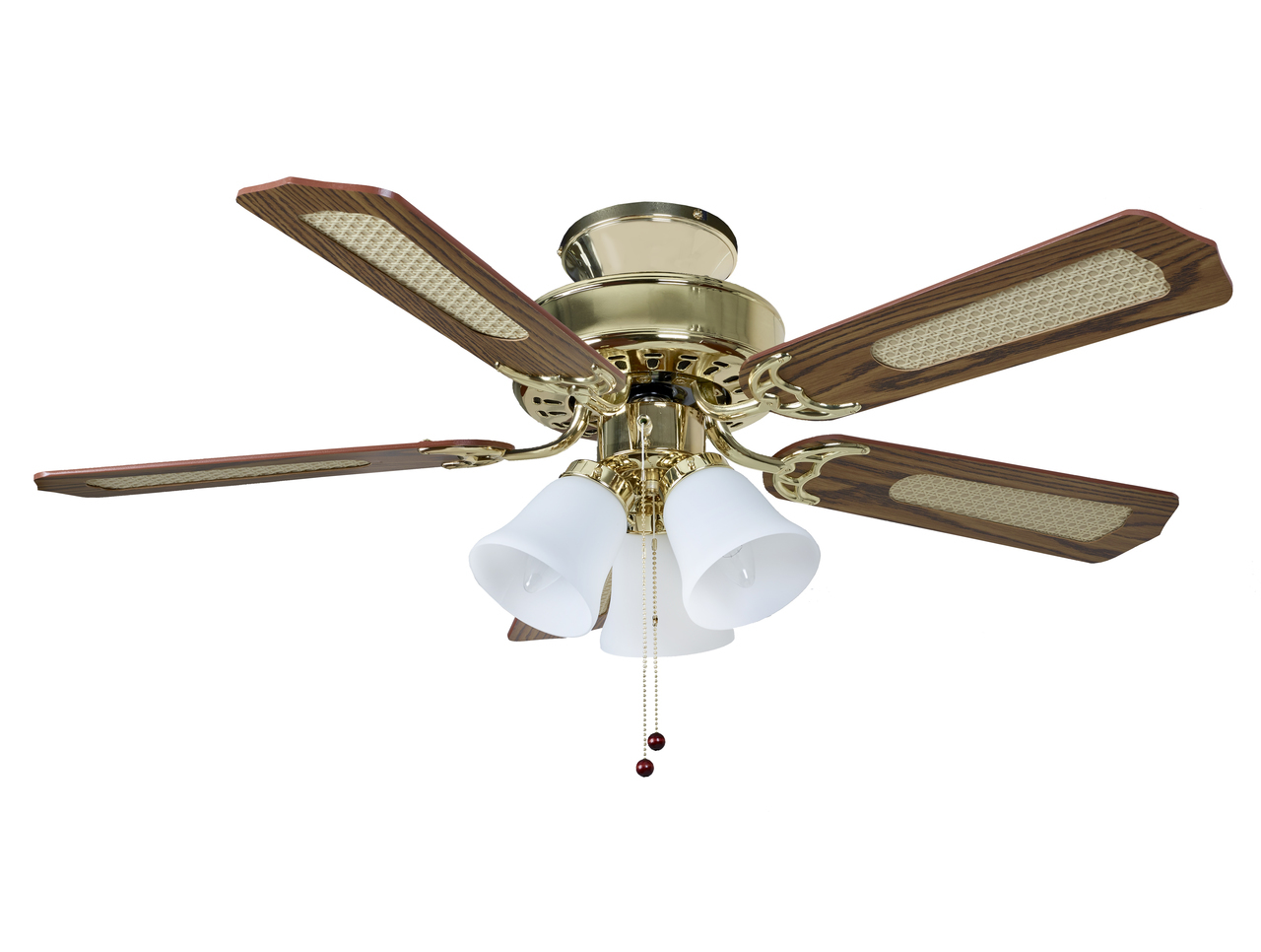fantasia belaire 42in ceiling fan brass light fantasia. Black Bedroom Furniture Sets. Home Design Ideas