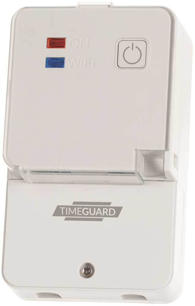 Timeguard NTTWIFI 16A 7 Day WIFI Programmable Timeswitch Surface Mount