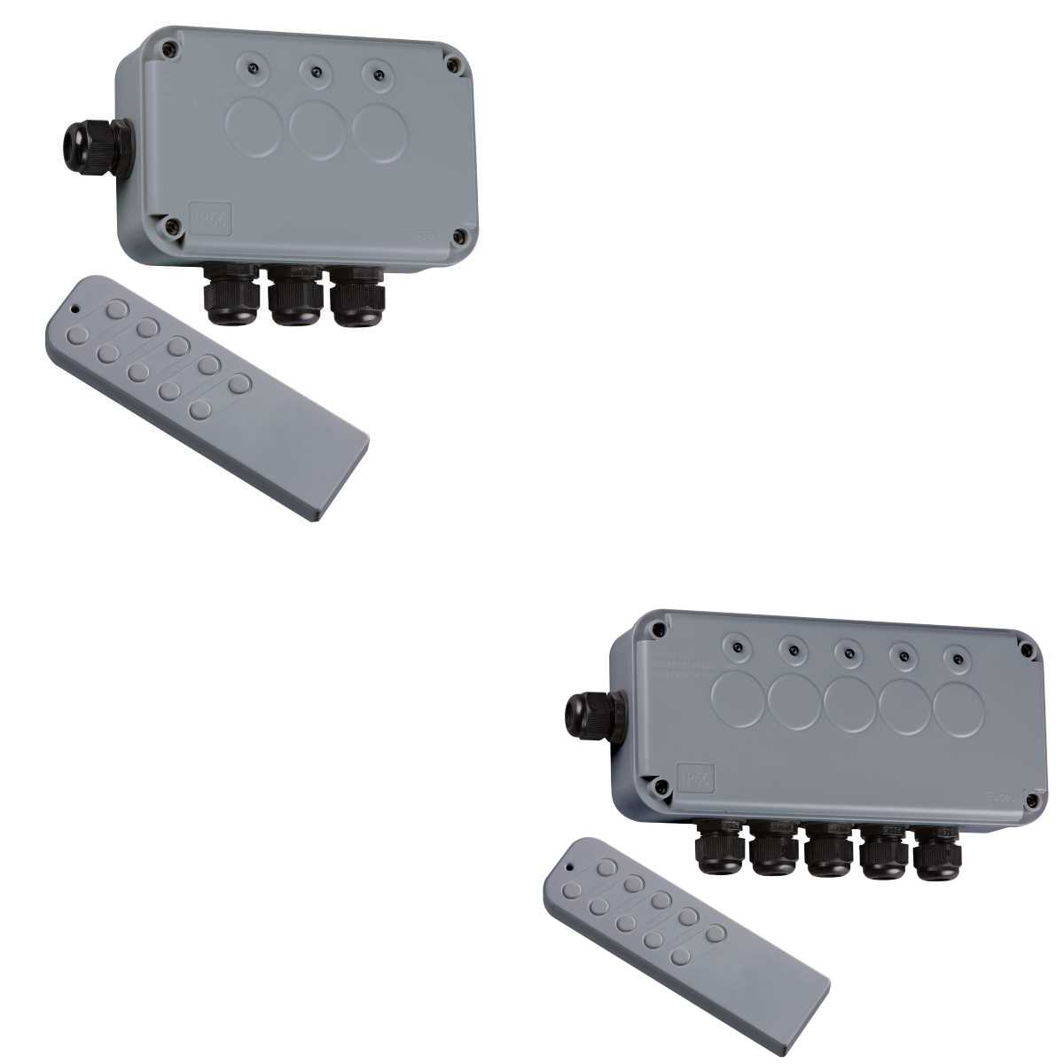 Knightsbridge 3G or 5G Remote Controlled Weatherproof Switch Boxes IP66