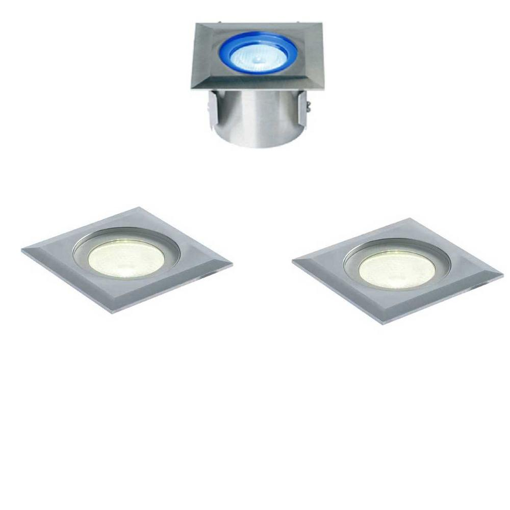 Collingwood GL016 SQ 1 Watt Square Stainless Steel LED Ground Lights IP68