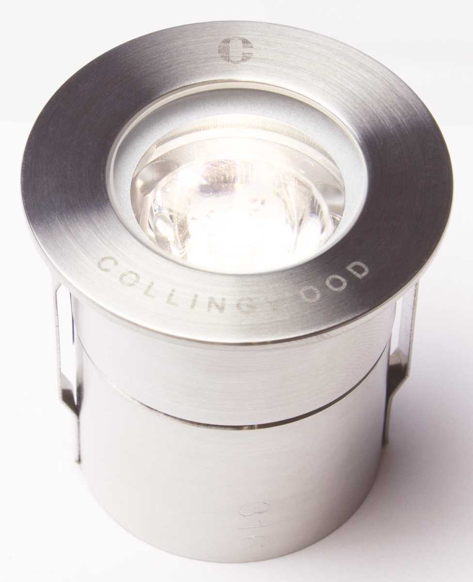Collingwood GL019 F 1 Watt Round Mini LED Ground Light Flood IP68
