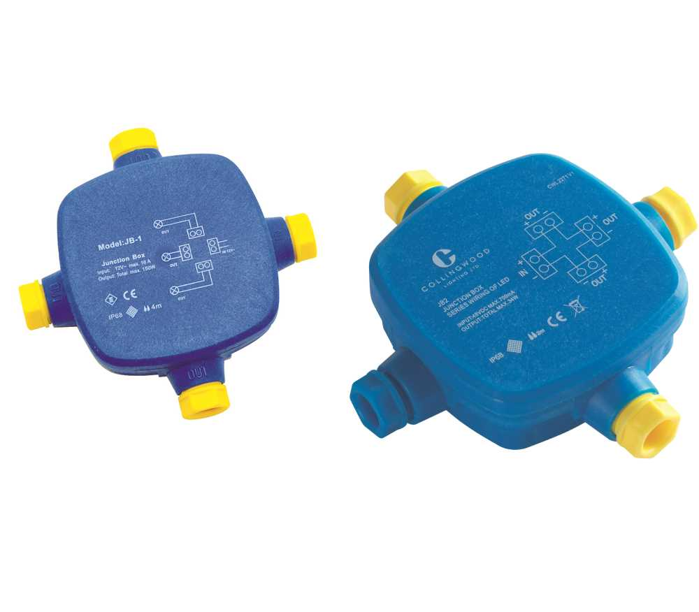 Collingwood Waterproof Junction Boxes Parallel or Series IP68 ...