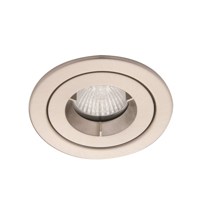 Ansell iCage Mini IP65 LED Satin Chrome Fire Rated