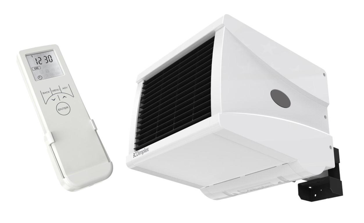 Dimplex Cfs30e 3kw Wall Mounted Commercial Fan Heater