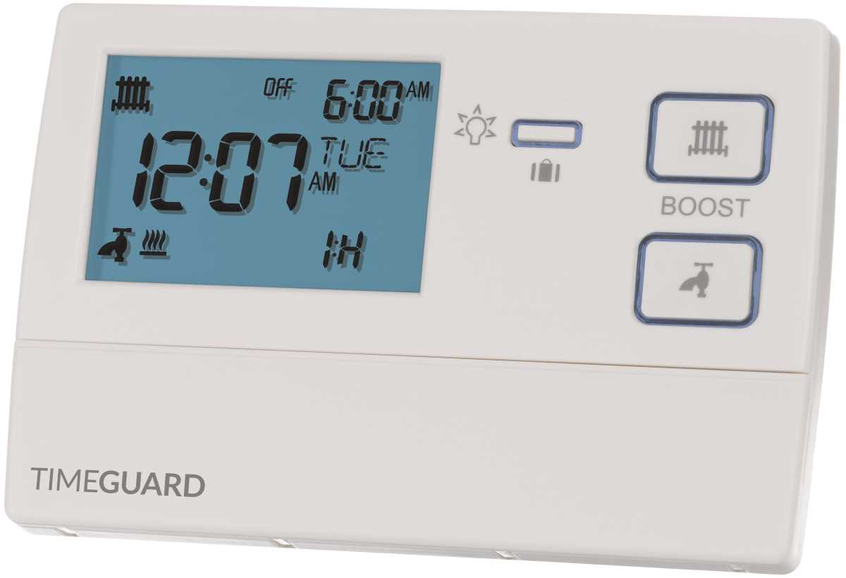 Timeguard TRT036N 7 Day Digital Heating Programmer 2 Channel