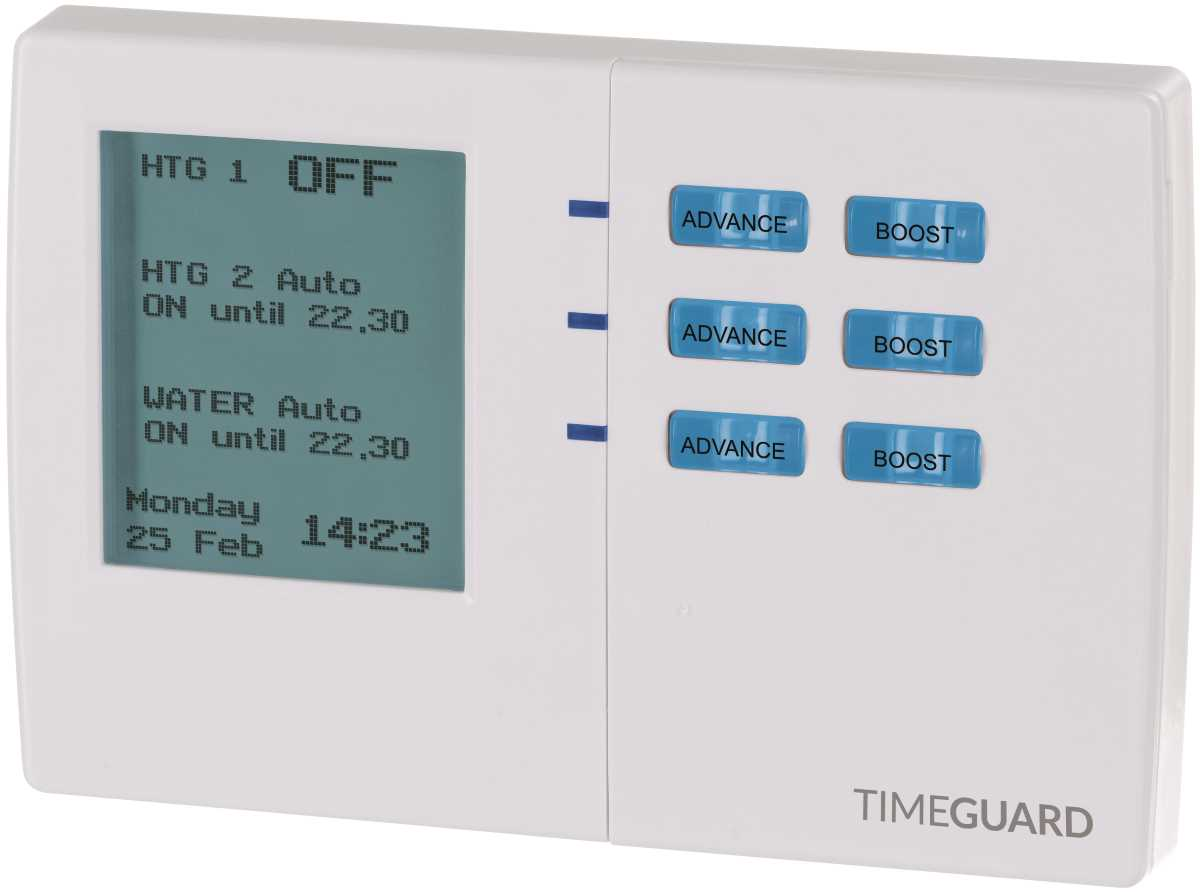 Timeguard TRT038N 7 Day Electronic Programmer - 3 Channel