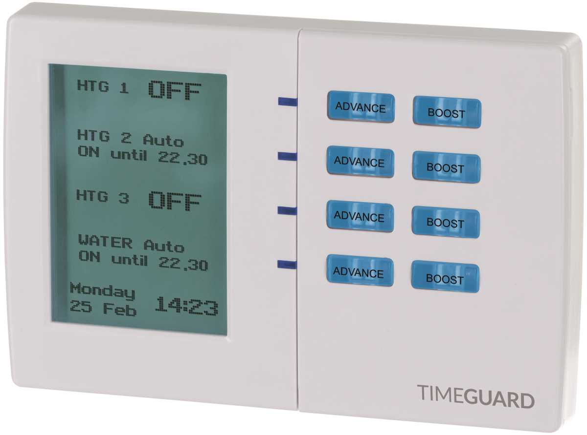 Timeguard TRT039N 7 Day Electronic Programmer - 4 Channel